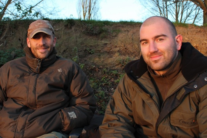 Mike Linstead meets professional carp angler and author Simon Crow