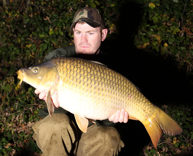 Another quick hit. This common came within an hour of the last fish.