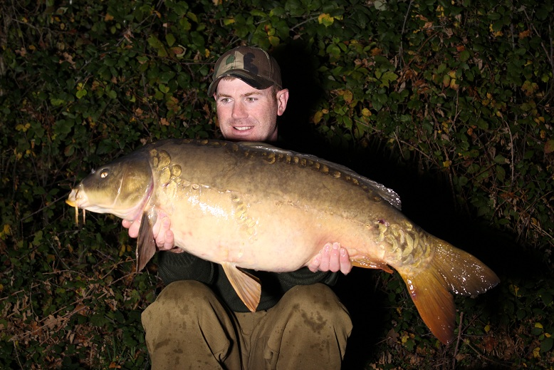 Back on his main spots and another stunner at 30lb