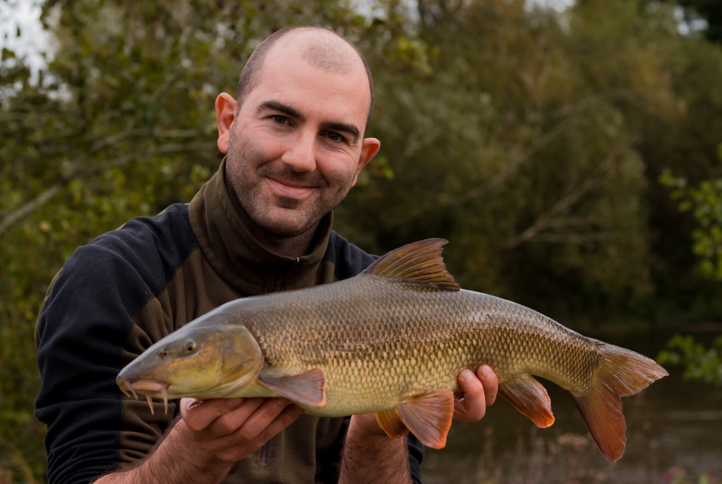 Mike Linstead with a River Wye Barbel